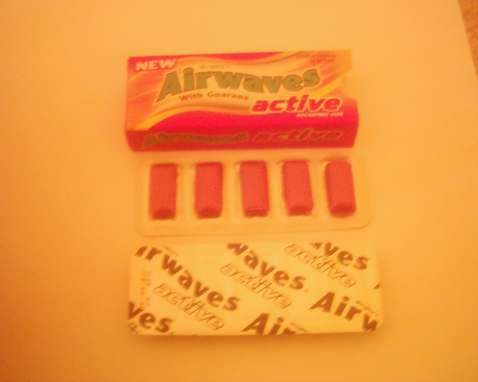 Airwaves choewing gum