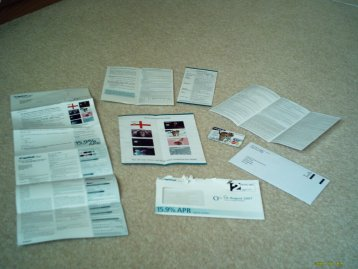 Capital One Junk Mail