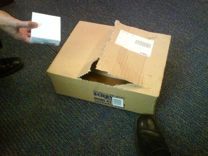 Screwfix packaging