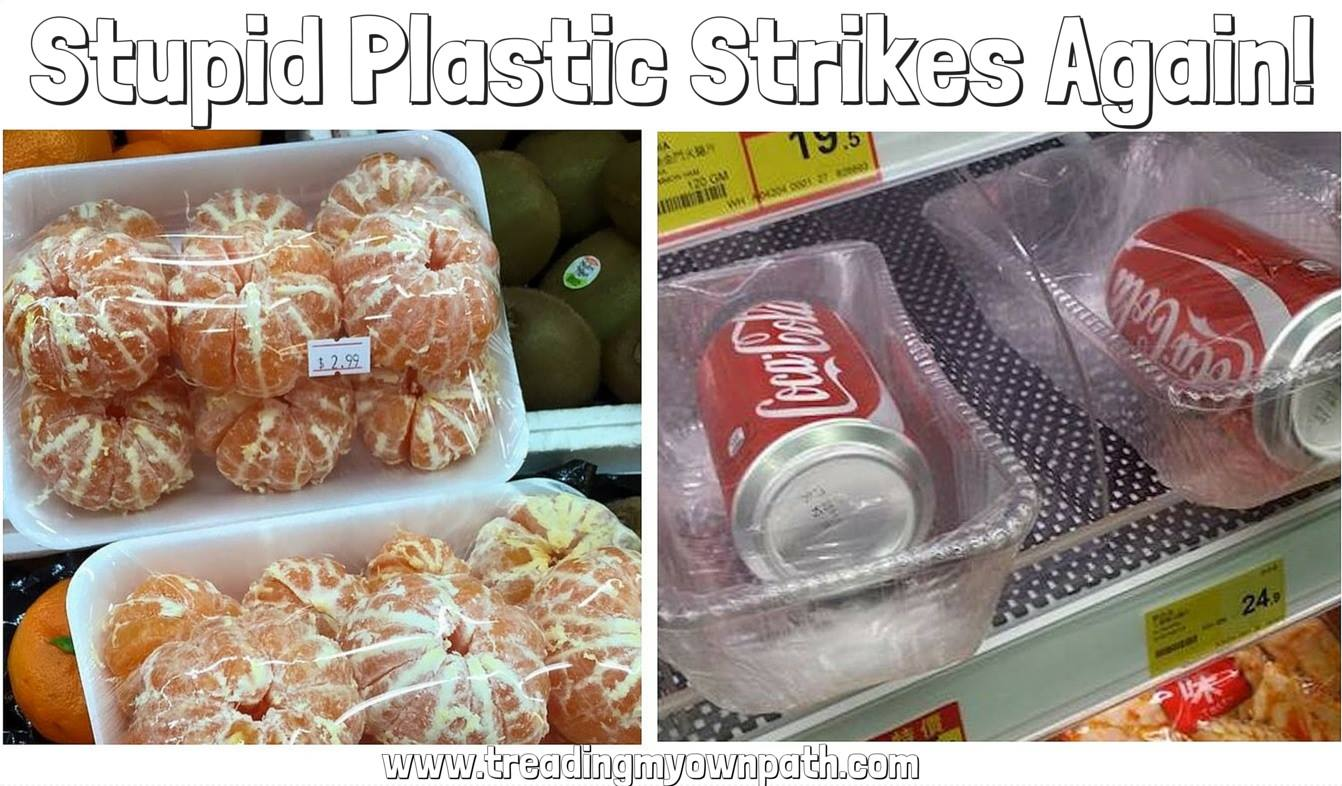 Two of the worst examples of overpackaging
