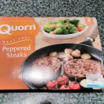 Quorn Peppered Steak Packaging