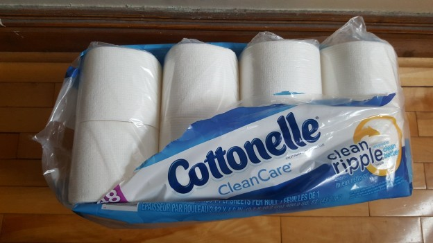 Cottonelle with too much plastic